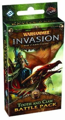 Fantasy Flight Games Warhammer Invasion Lcg Tooth And Claw Battle Pack Board Game