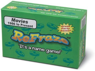 TaliCor Refraze Movie Edition 1986 To Present Board Game