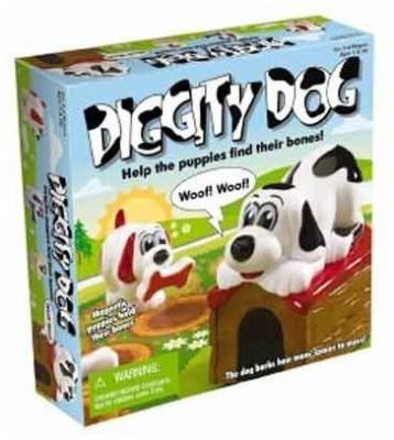 International Playthings Diggity Dog Board Game
