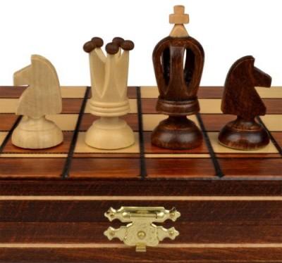 Wegiel Mini Royal European Wood International Chess Set 121/4,, X Board Game