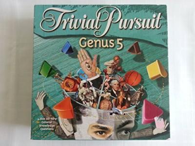 Hasbro Trivial Pursuit Genus 5 Board Game