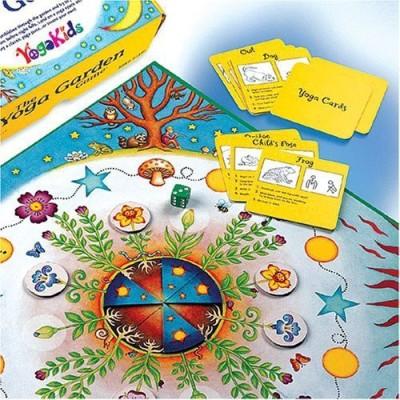 YogaKids The Yoga Garden Board Game