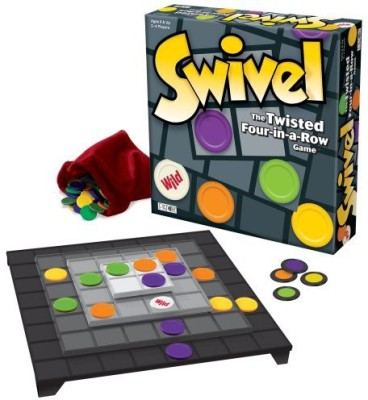 Patch Products Inc. Swivel The Twisted Fourinarow Board Game