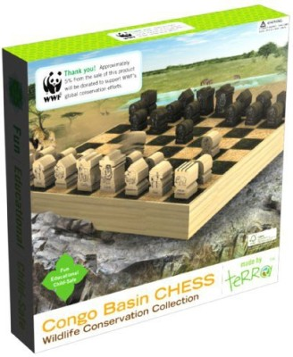 WWF Congo Basin Chess Board Game