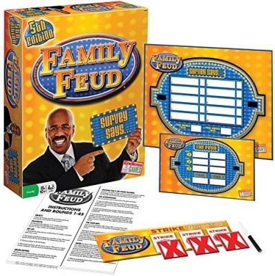 Brybelly Classic Family Feud 5Th Edition Board Game