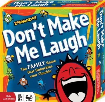Zobmondo!! Don,T Make Me Laugh Board Game