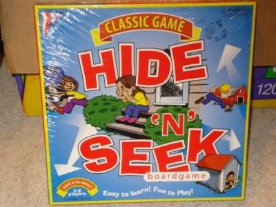Classic Game Hide N Seek Board Game