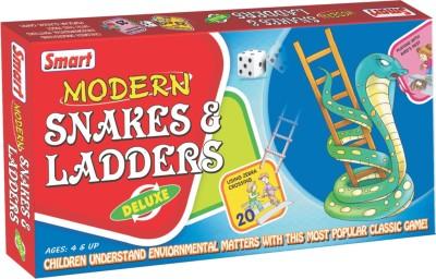 Smart Modern Snakes & Ladders Board Game