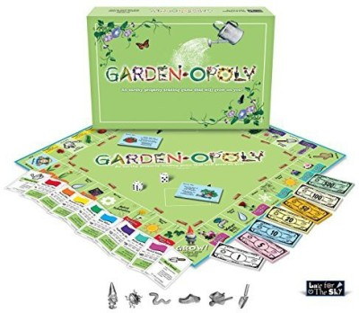 Late for the Sky gardenopoly Board Game