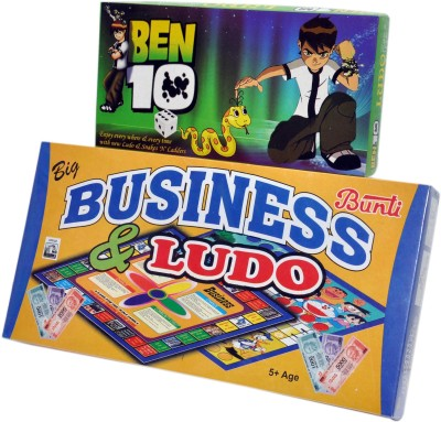 RK Toys Business-Ludo-Ben10 Board Game