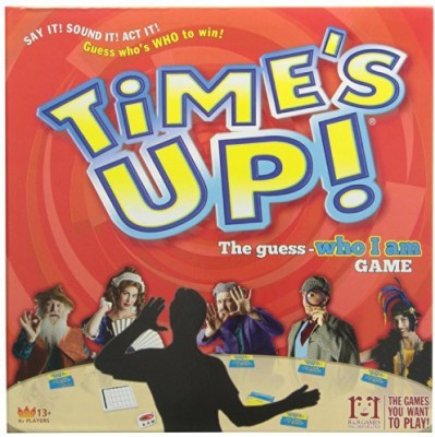 R & R Games Time,S Up Deluxe Board Game
