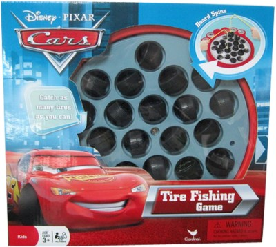 Cardinal Industries Cars Tyre Fishing Board Game