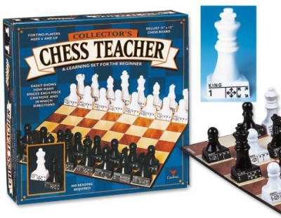 Cardinal Industries Chess Teacher (Styles May Vary) Board Game
