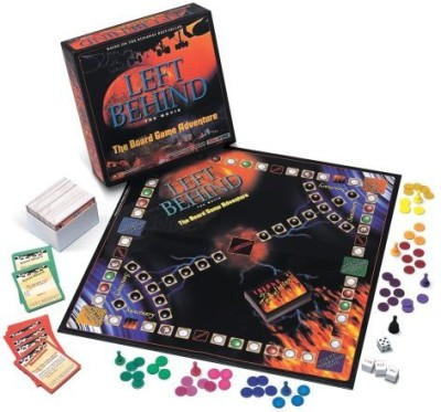 TaliCor Left Behindthe Movie Board Game