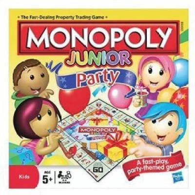 Hasbro Monopoly Junior Party (Ea) Board Game