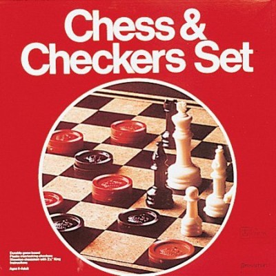 Pressman Chess And Checkers Board Game