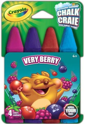 Crayola Build Your Box Very Berry Chalk (4 Count) Board Game