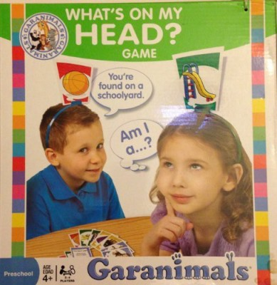 Garanimals What,S On My Head Board Game