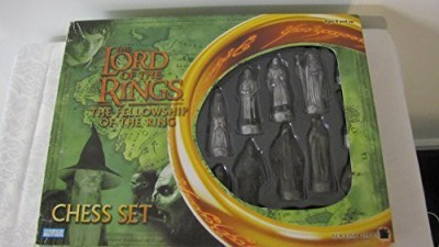 Parker Brothers Lord Of The Rings Fellowship Of The Ring Chess Set Board Game