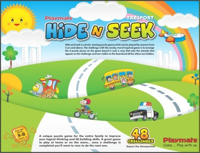 Playmate Hide N Seek Transport Board Game