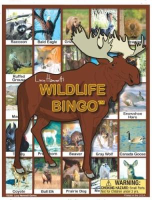 Lucy Hammett Games Wildlife Bingo Board Game