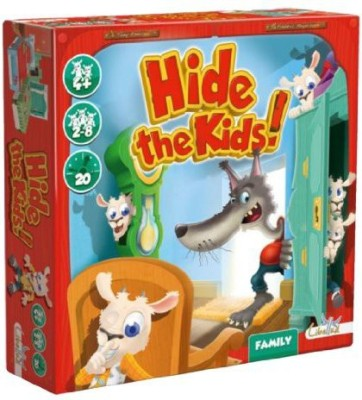 Asmodee Hide The Kids Board Game