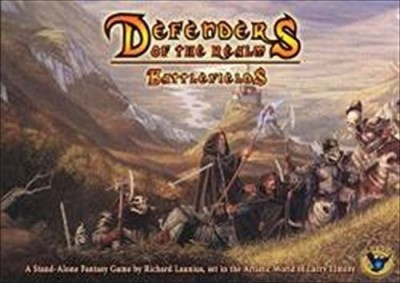Eagle Games Defenders Of The Realm Battlefields Board Game