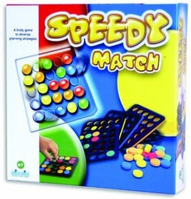 Kod Kod International Games Speedy Match Board Game