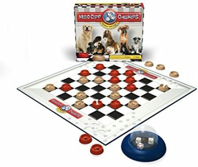 Madd Capp Checkers Dog Lovers Edition Board Game