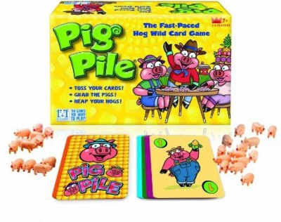 R & R Games Pig Pile Board Game