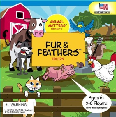 Fur & Feathers Am811 Board Game