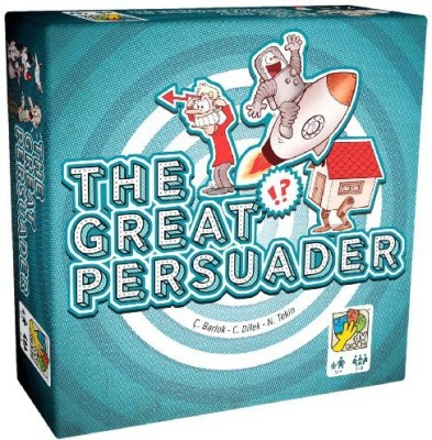 DaVinci Games Great Persuaderthe Sw (Vg+/New) Board Game