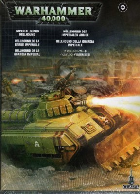 Games Workshop New Plastic Hellhound Tank Box Warhammer 40K Board Game