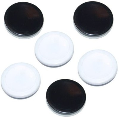 Othello 6 Replacement Discs Black & White Reversible Pawns/Pieces Board Game