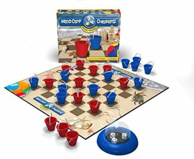 Madd Capp Checkers Beach Lovers Edition Board Game