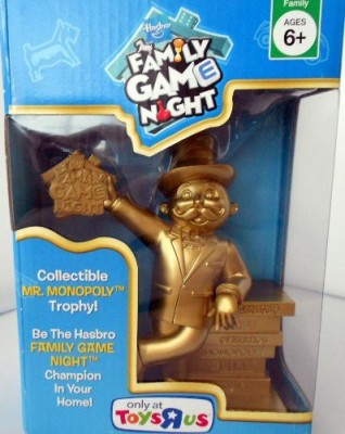 Monopoly Hasbro Family Night Mr Trophy Board Game