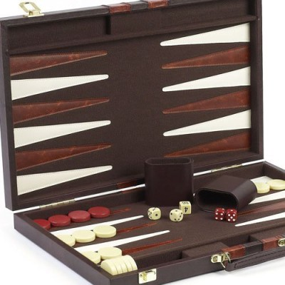 Bello Games New York, Inc. Tompkins Square Backgammon Set 15