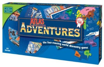 MindWare Atlas Adventure Board Game