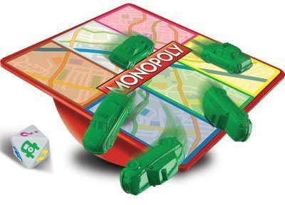 Parker Brothers S Monopoly Free Parking Mini Board Game