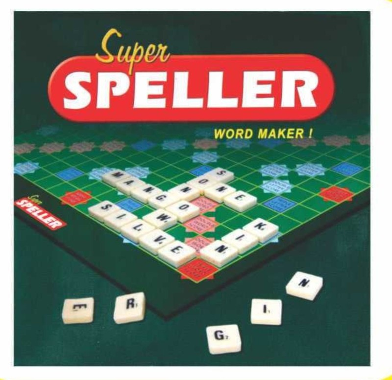 C J Enterprise Super Speller Board Game