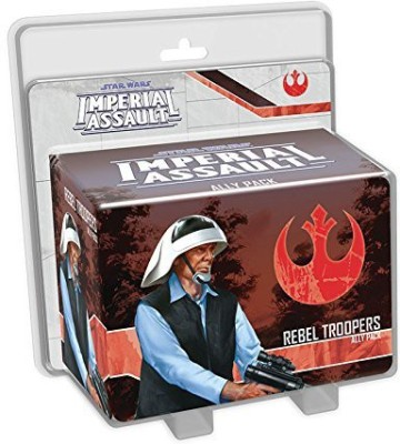 Fantasy Flight Games Star Wars Imperial Assault Rebel Troopers Pack Board Game