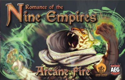 Alderac Entertainment Group Romance Of The Nine Empires Arcane Fire Board Game