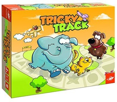 FoxMind Games Tricky Track Board Game