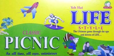 Jaibros Classic Picnic Board Game