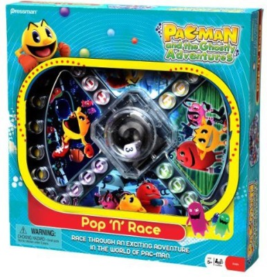 Pressman Toy Pacman And The Ghostly Adventures Pop ,N, Race Board Game