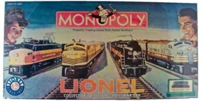 Parker Brothers Monopoly Lionel Collectors Edition Postwar Era Board Game