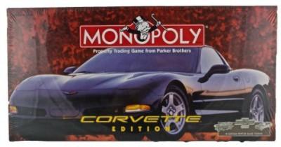 Monopoly Corvette Board Game