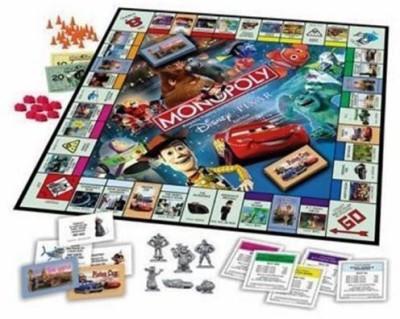 Hasbro Monopoly Disney Pixar Edition Board Game