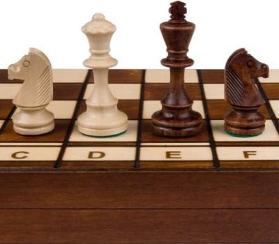 Wegiel Jowisz Decorative Folding Chess Set Board Game