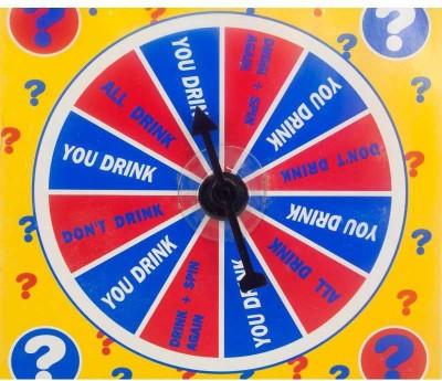 Urban Chakkar Spin A Drink Shot Glass Bar Game Board Game